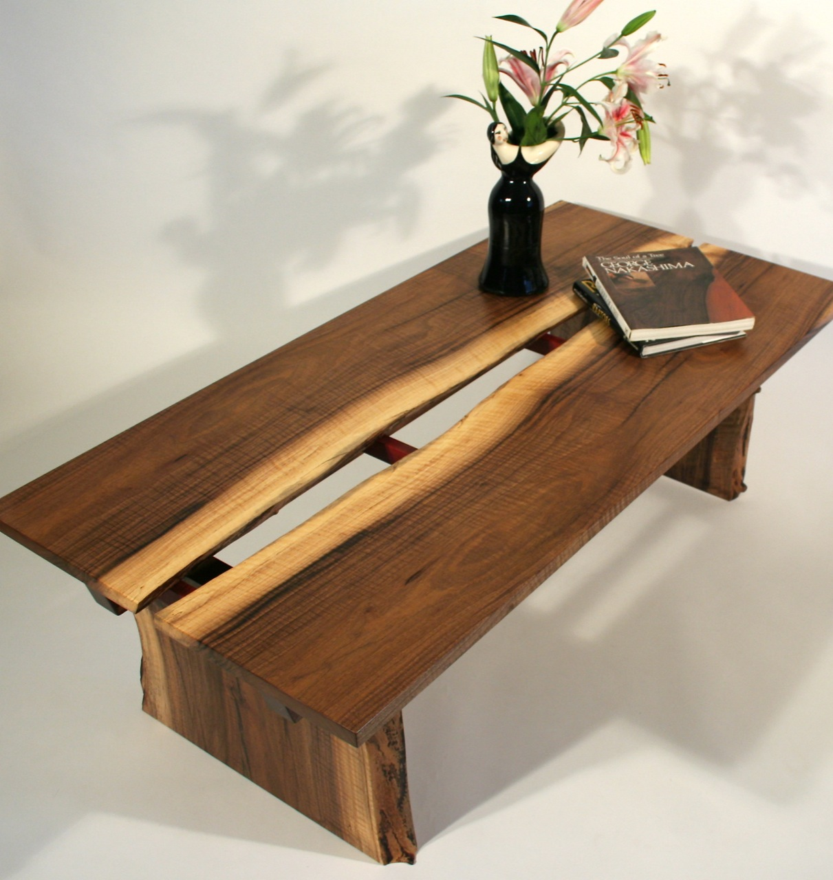 River S Rift Sushi Coffee Table Timothy S Fine Woodworking